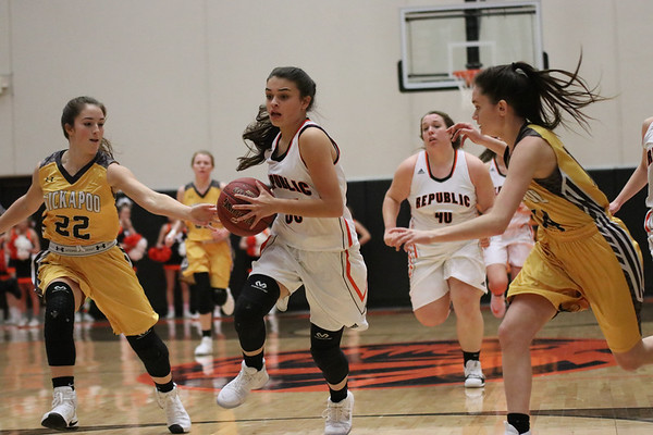 20171218 JV Girls Basketball vs Kickapoo