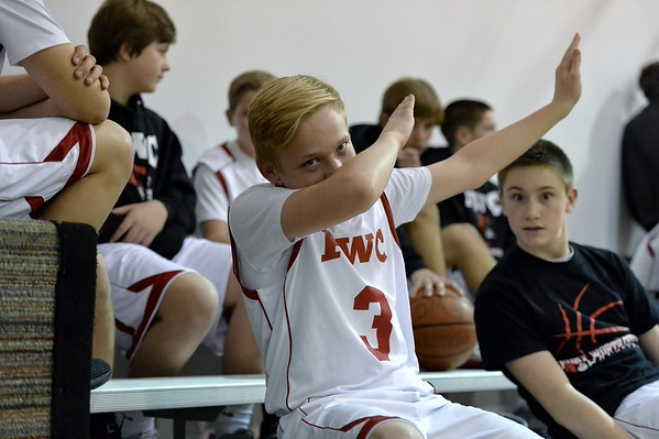 FWC Basketball Boys 8th  2-9-2016
