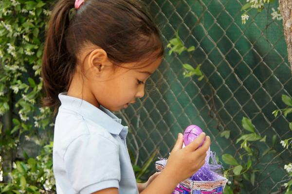 Kindergarten Buddies Egg Hunt