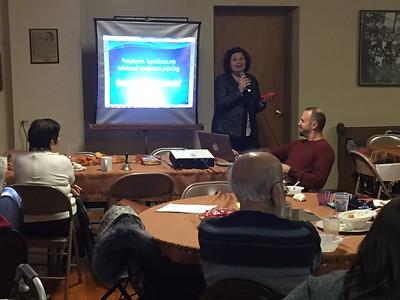 Armenian Studies Visits Binghamton, NY Parish (Oct. 28, 2018)