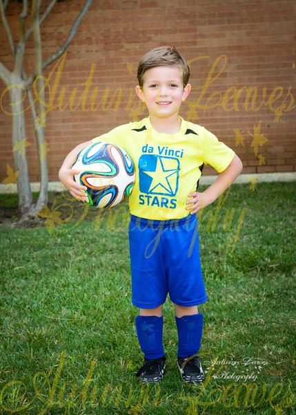 Rookie DaVinci Stars (Yellow) - TNYMCA Soccer Spring 2016 -