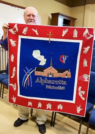 2015 quilt gift for Paraguay