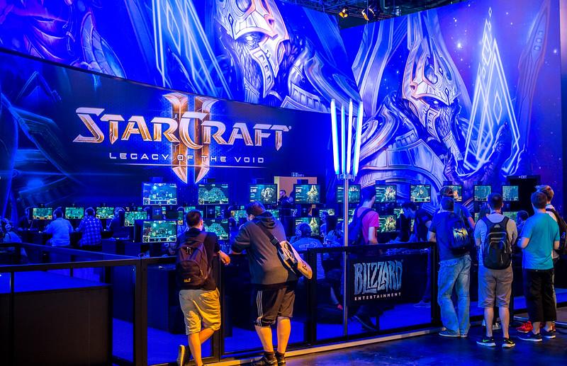 Starcraft II at Gamescom 2015