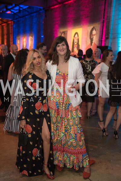 Diya Eggleston, Svetlana Legetic, The Phillips Collection, Annual Gala Afterparty, Contemporaries Bash, Union Market Dock 5. May 10, 2019, Photo by Ben Droz.