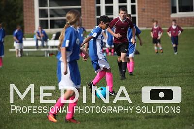 Varsity Soccer Playoff Game 1