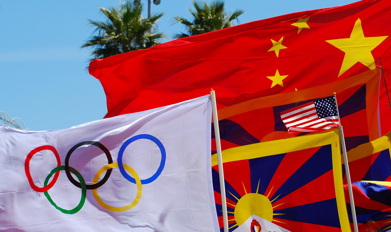Olympics, Tibet, China, US -- all the bases are covered