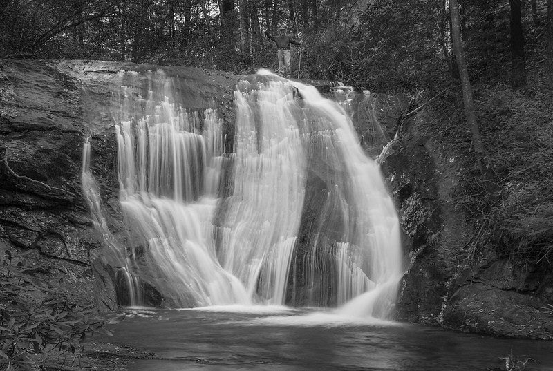 Falls on Montgomery Creek
