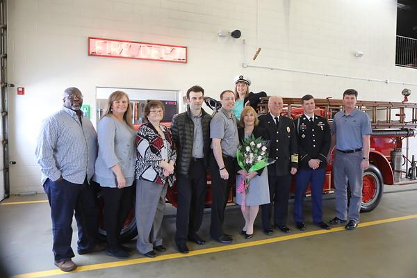 Village Of Barrington  Fire Chief Jim Arie Retirement
