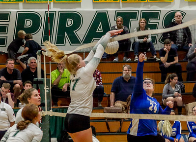 Set five: Vashon Island High School Varsity Volleyball v Chimacum 09/20/2018