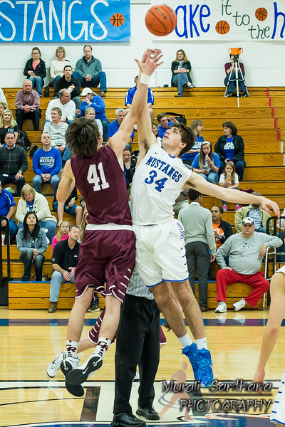 01-30-2015 - Mens High School Basketball - Taylor vs Cinco Ranch