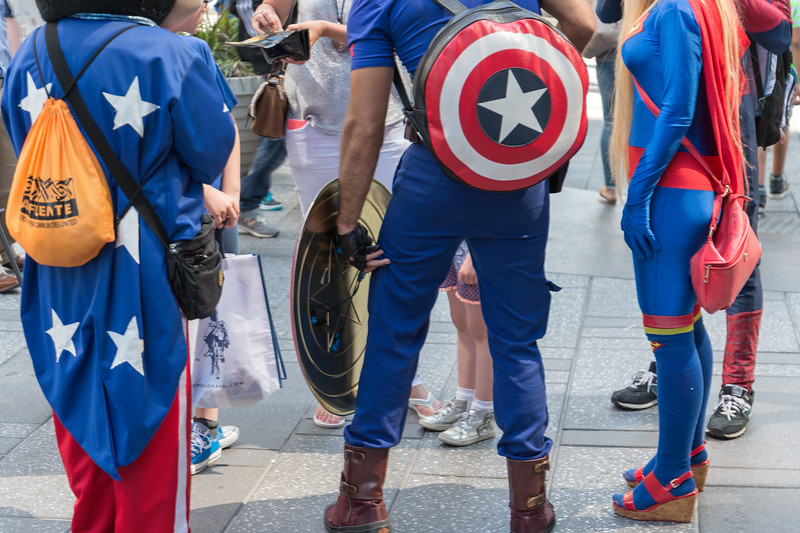Street Artists - Times Square, New York, NY, USA - August 22, 2015
