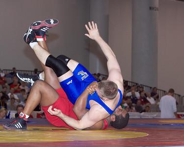 Men's Freestyle Championships 96 Kg: Daniel Cormier, Stillwater, Okla. (Gator Wrestling Club) dec. Nik Fekete, Iowa City Iowa (New York AC), 7-0,2-0