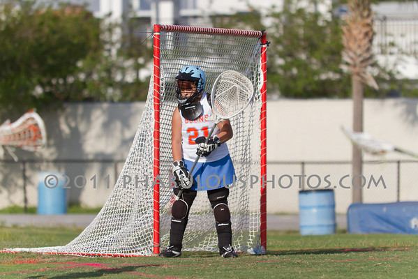 Boone Girls JV Lacrosse 2011 - #21