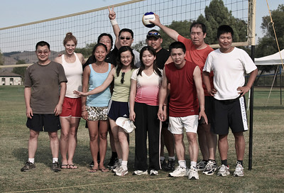 Volleyball Contest-BAD Team