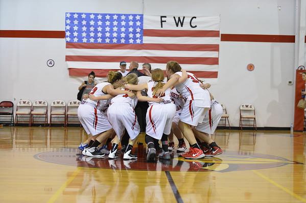 FWC Girls 8th Basketball  11-10-2015
