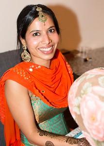 Sujita and Matthew Henna Party 12-28-17