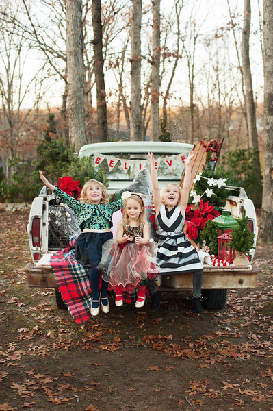 Christmas Mini: The Nelson Girls