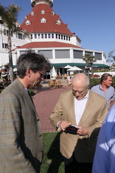 Russ Daggatt (L), Founding Partner, Denny Hill Capital; and Sidney Rittenberg, Founder, Rittenberg Associates