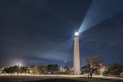 #414 Night Watch - Cape May Light