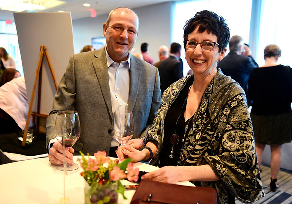 3/23/2019 Mike Orazzi | Staff Lou and Ruth Martin during the Bristol Hospital Development Foundation's annual Festival of Wine and Spirits held at the DoubleTree by Hilton Hotel in Bristol Saturday night.