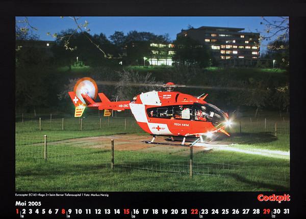 Cockpit Calendar – Rotorworld May 2005