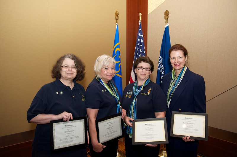 Honor Pin awardees