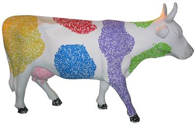 14 Dedona, una vaca única e irrepetible - Artista Verónica Escoto de Monraz, Mónica Escoto, Sponsor Espectaculares tapatios