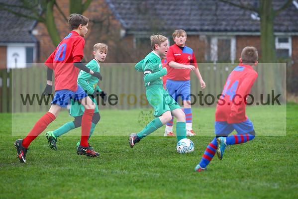 Under 12's v Moorthorpe & South Elmsall under 12's