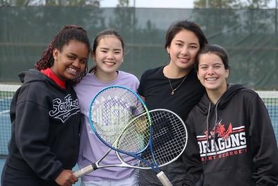 US Tennis Practice and Seniors 5-1-19