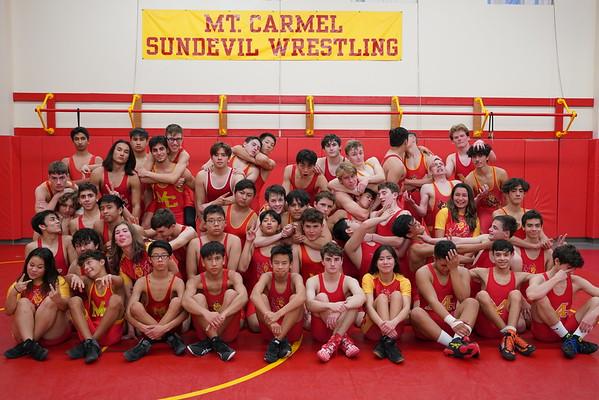2019/2020 MCHS Wrestling Season