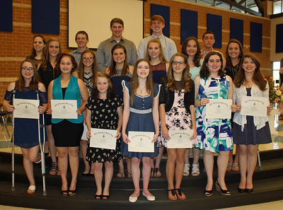 CELESTE HIGH SCHOOL BETA CLUB INDUCTION