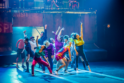 """2019-06-01 Ecole Nationale de Cirque - TOHU - """"Où vont les fleurs"""""""