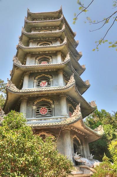 Xa Loi Pagoda  at Marble Mountain
