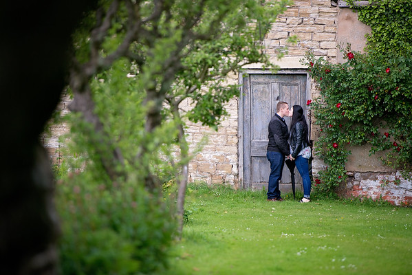 Jodie and Dale engagement Monk Fryston Hall
