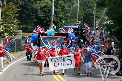 "RT.6A — MAIN ST. — RT.28 parade ★ ""Independence Day the Orleans Way - One Big Family!"" ★ Orleans, MA — 2018"