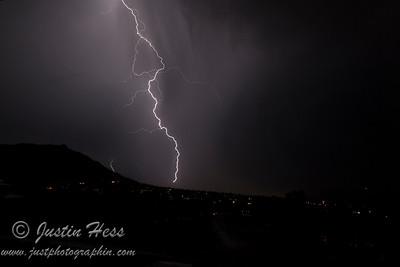 Thunderstorm Over Estes 8-27-2013