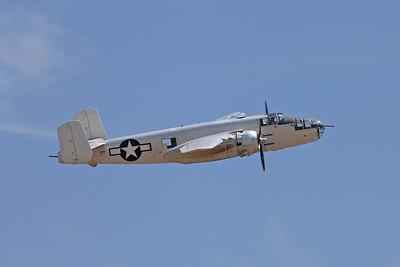 B-25's, C-47's & P-38's