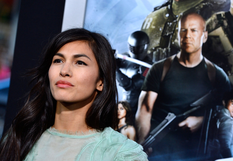 ". Actress Elodie Yung arrives at the premiere of Paramount Pictures\' ""G.I. Joe: Retaliation\"" at TCL Chinese Theatre on March 28, 2013 in Hollywood, California.  (Photo by Frazer Harrison/Getty Images)"