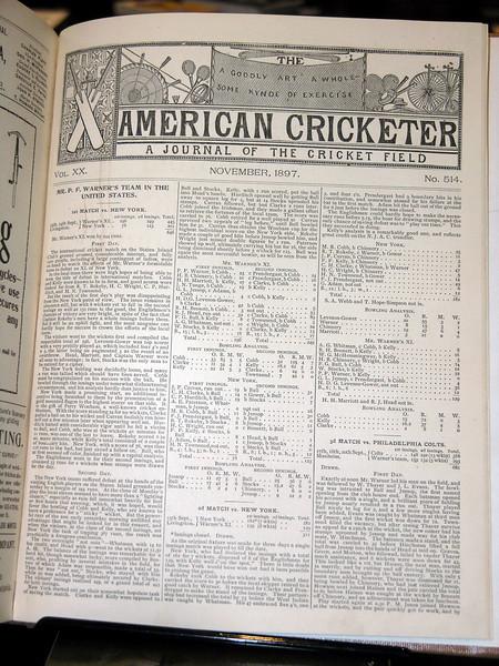 P F Warner US Tour 1897