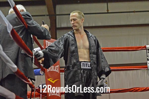 Bout #3 - Paul Pindroh (Pittsburgh, PA) vs Glen Walls (Bruceton, WV)  147 Lbs.