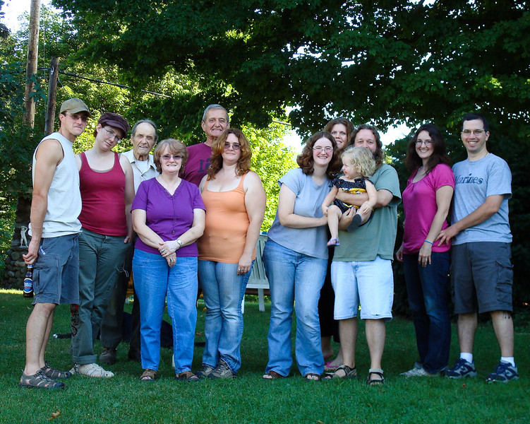 Louis, Melissa, Uncle Dave, Sue, Will, Jean, Deb, Teri, Beverly, Eric, Jenn, Scott