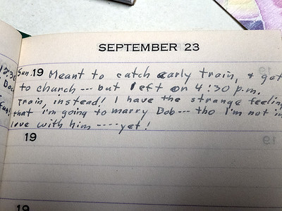 Mom's Diary 1951 (excerpts)
