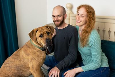 Laura, Patrick and Harper - Engagement 2
