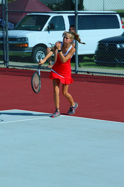 WHS Girls Tennis @ 9TH ST. COURTS  090319