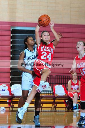 Ladies JV Basketball - Mason at Okemos