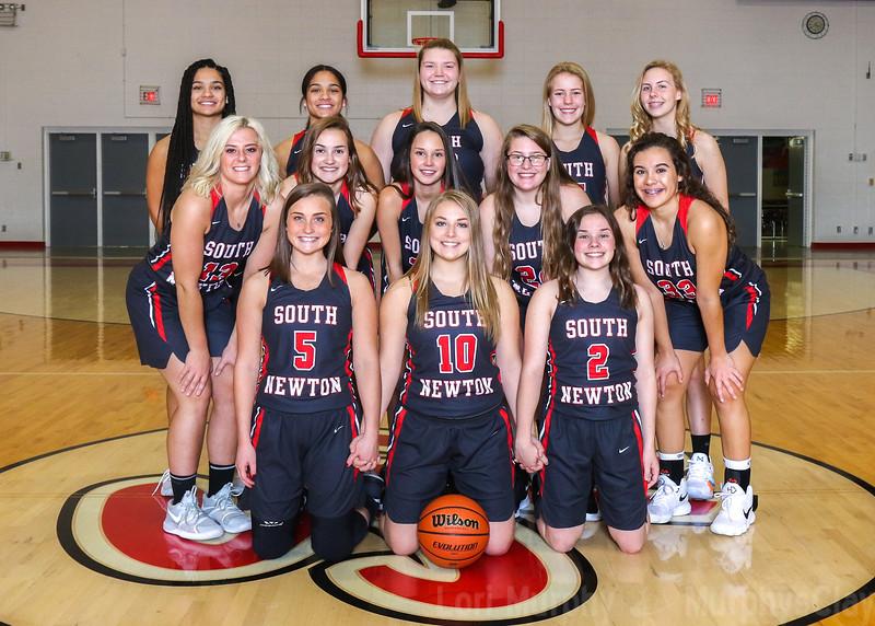 SNHS Girls Basketball 2018-2019
