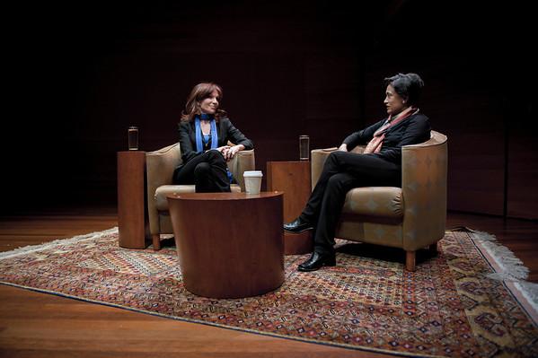 Marilu Henner + Supama Rajaram - Total Recall - BRAINWAVE series at the Rubin Museum of Art