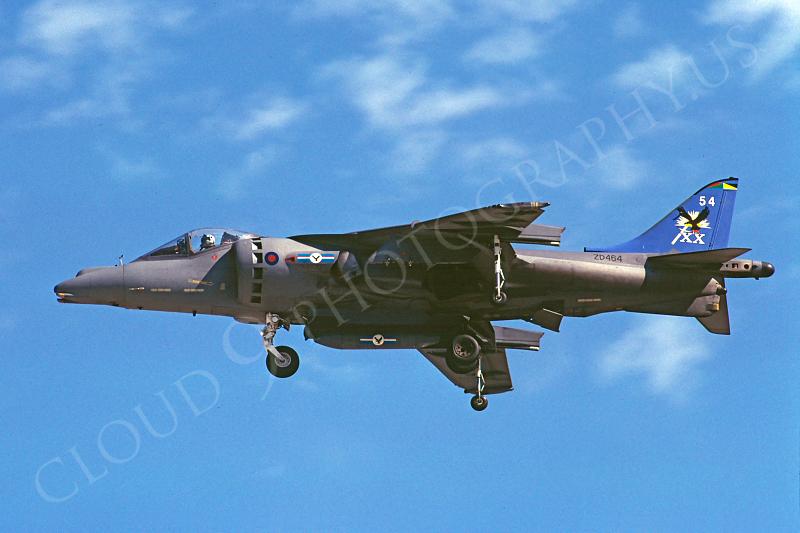 BAE Harrier 00030 BAE Harrier British RAF ZD464 19 July 2002 by Stephen W D Wolf.JPG