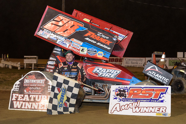 Franek Wins Again at Woodhull; Second with All Stars at Lebanon Valley