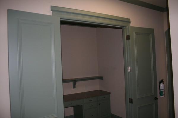 New office doors